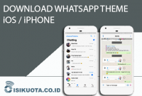Download WhatsApp Theme iPhone