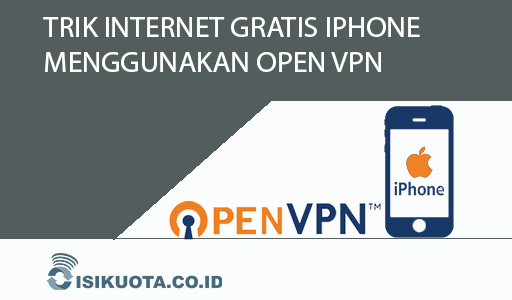 trik internet gratis iphone