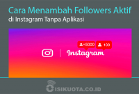 Menambah Followers
