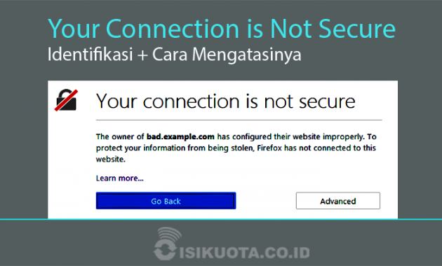 Your Connection is Not Secure