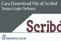 Cara Download File di Scribd